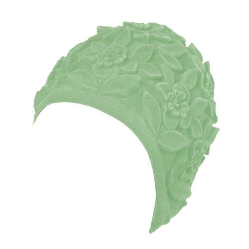 553fc7d961e396 BECO dames ornament badmuts, latex, groen